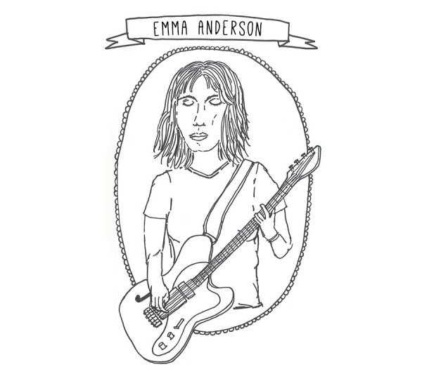 EMMA ANDERSON of LUSH – Song For Ewe