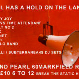 BAND OF HOLY JOY – THE DEVIL HAS A HOLD ON THE LAND GIG & New Lucky 7