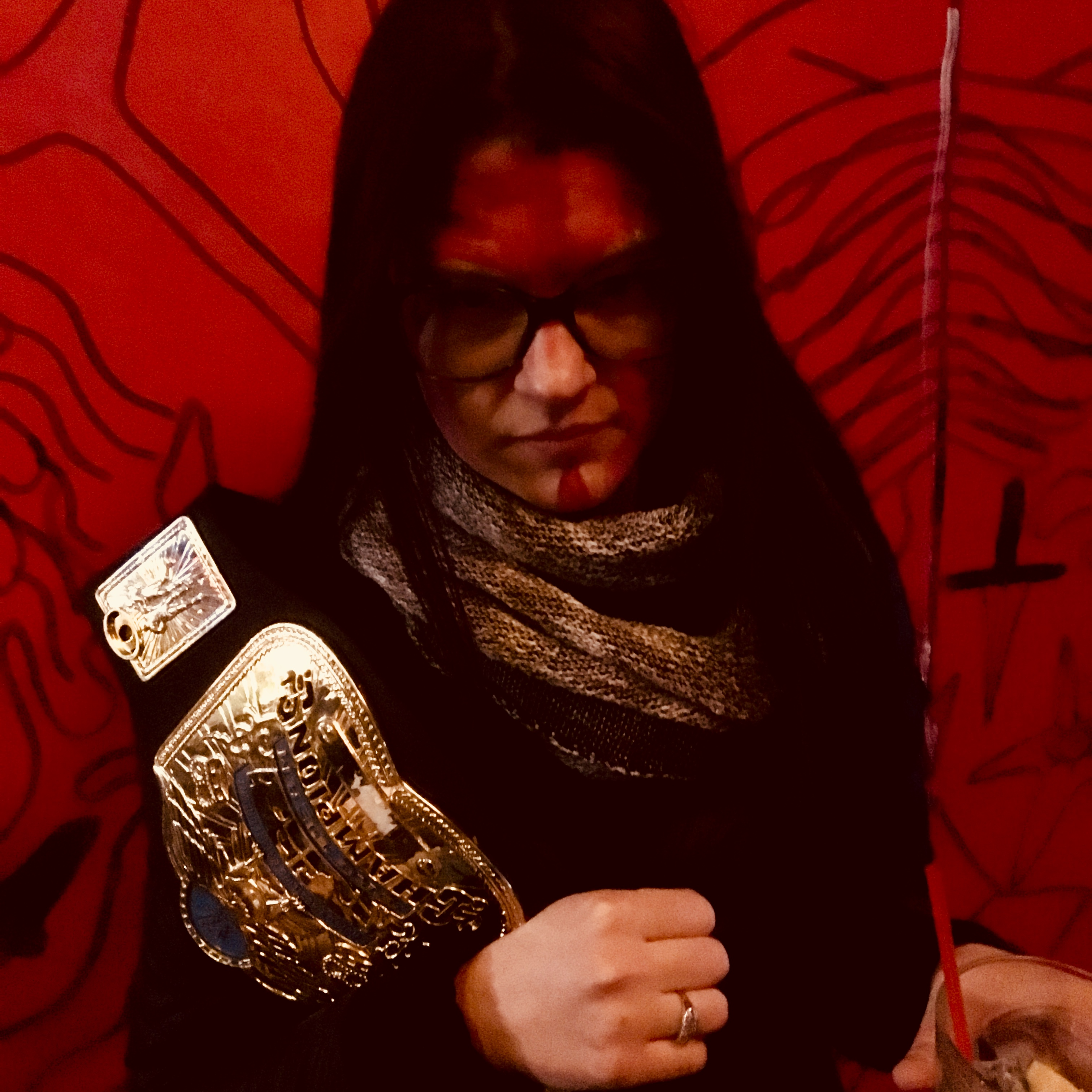 KELLIE MORGAN LUTZKO of UNHOLY TWO – Song For Ewe