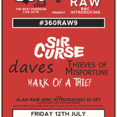 #360RAW9 / Leeds Lending Room / Friday 12 July