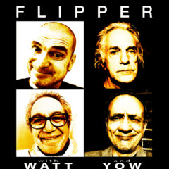MIKE WATT of MINUTEMEN, FIREHOSE, THE STOOGES & for European tour FLIPPER ! – Song For Ewe